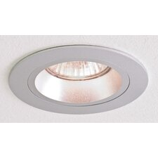 Taro Round Downlight in Brushed Aluminium