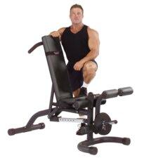 Heavy Duty Adjustable Bench with Leg Developer