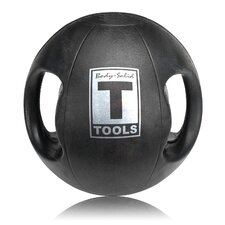 14 lbs Dual Grip Medicine Balls in Black