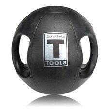 14 lbs Dual Grip Medicine Balls in Black