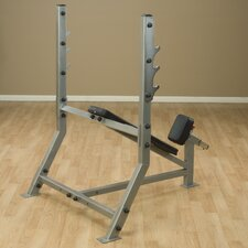 Pro Club Adjustable Incline Olympic Bench