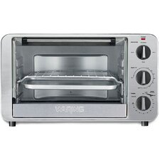 6-Slice 0.6 Cubic Foot Convection Toaster Oven