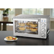 <strong>Waring</strong> 0.9-Cubic Foot Commercial Countertop Convection Oven