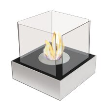 Ezy Flame Ethanol Square Table Top Decorative Fire