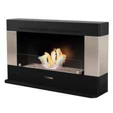 Vio Flame Rectangular Convection Ethanol Fireplace