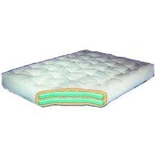 "Cotton and Foam 8"" Full Sized Futon Mattress"