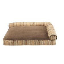 Soft Touch Right Angle Lounger Bolster Dog Bed