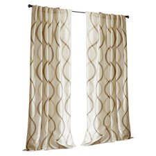 Serendipity Rod Pocket Window Curtain Single Panel