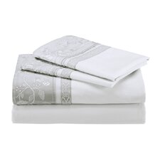 Madame Ning 400 Thread Count Fitted Sheet