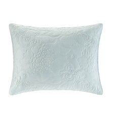 Mantones de Manila Silk Cotton Quilted Duvet Sham