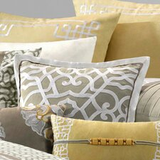 Fretwork Square Polyester Pillow