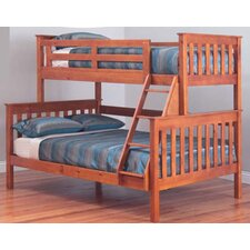 Forte Trio Bunk Bed in Teak