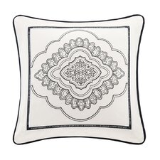 Naples Square Cotton Pillow