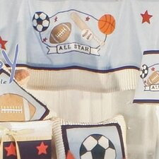 All Star Cotton Curtain Valance