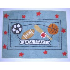 All Star Nursery Rug