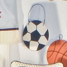 All Star Soccer Ball Hanging Art