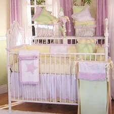 Froggy Lavender 13 Piece Crib Bedding Set