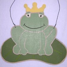 Ribbit Frog Hanging Art