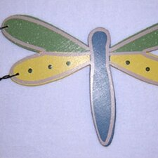 Ribbit Dragonfly Hanging Art