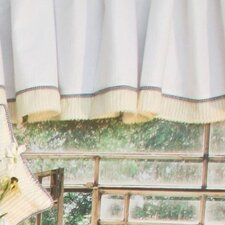 Flutter Bees Cotton Blend Curtain Valance