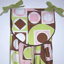 Modern Baby Girl Caffe Diaper Stacker