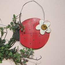 Pink Ladybugs and Dragonflies Ladybug Wall Hanging