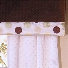 <strong>Brandee Danielle</strong> Ash Cotton Rod Pocket Tailored Curtain Valance