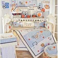 All Star 19 Piece Crib Bedding Set