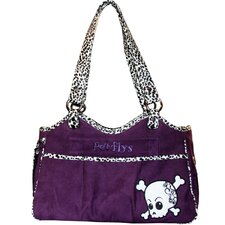 Bon Ami Punky Skull Pet Carrier