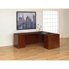 Sonoma L-Shaped Straight Front Executive Desk