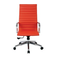 High Back Eco Leather Conference Chair