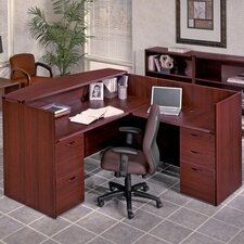 <strong>OSP Furniture</strong> Napa Reception Desk