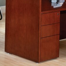 <strong>OSP Furniture</strong> Sonoma Box/Box/File Credenza Pedestal