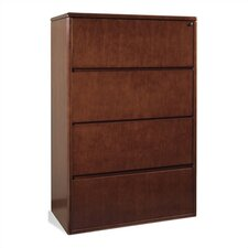 <strong>OSP Furniture</strong> Sonoma Four Drawer Lateral File