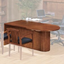 "<strong>OSP Furniture</strong> Kenwood 72"" W P-Top Desk"