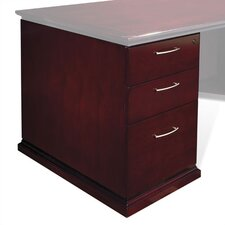 <strong>OSP Furniture</strong> Mendocino Box/Box/File Pedestal for Credenza/Return
