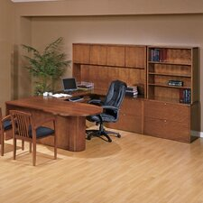 Kenwood U-Shape P-Top Desk Office Suite