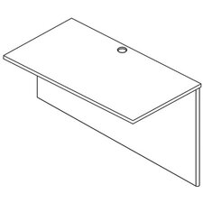 "<strong>OSP Furniture</strong> Napa 29"" H x 35"" W Desk Bridge"