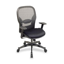 <strong>OSP Furniture</strong> Mid Back Leather Managerial Chair