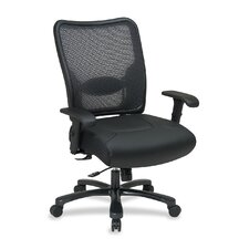 <strong>OSP Furniture</strong> Leather Chair