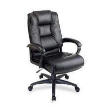 <strong>OSP Furniture</strong> High Back Leather Executive Chair