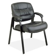 <strong>OSP Furniture</strong> Leather Guest Chair