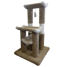 "45"" Kitty Jungle Gym Cat Tree"