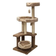 "<strong>Majestic Pet Products</strong> 55"" Kitty Jungle Gym Cat Tree"