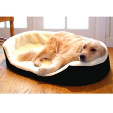 Lounger Orthopedic Nest Dog Bed
