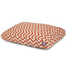 Zig Zag Rectangular Dog Bed