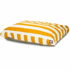 Vertical Stripe Rectangle Pet Bed