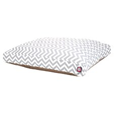 Zig Zag Rectangular Pet Bed