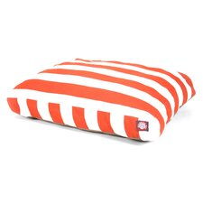 Vertical Strip Rectangle Dog Pillow