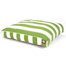 Vertical Stripe Rectangle Pet Bed